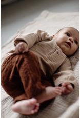 LEVV Levv newborn baby jongens joggingbroek Berre Brown Almond