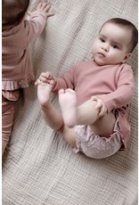 LEVV Levv newborn baby meisjes korte broek Bianca aop Lila Shadow Flower