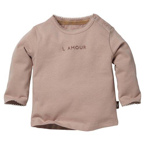 LEVV Levv newborn baby meisjes shirt Bonnie Lila Shadow