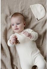 LEVV Levv newborn baby meisjes muts Britt Off White