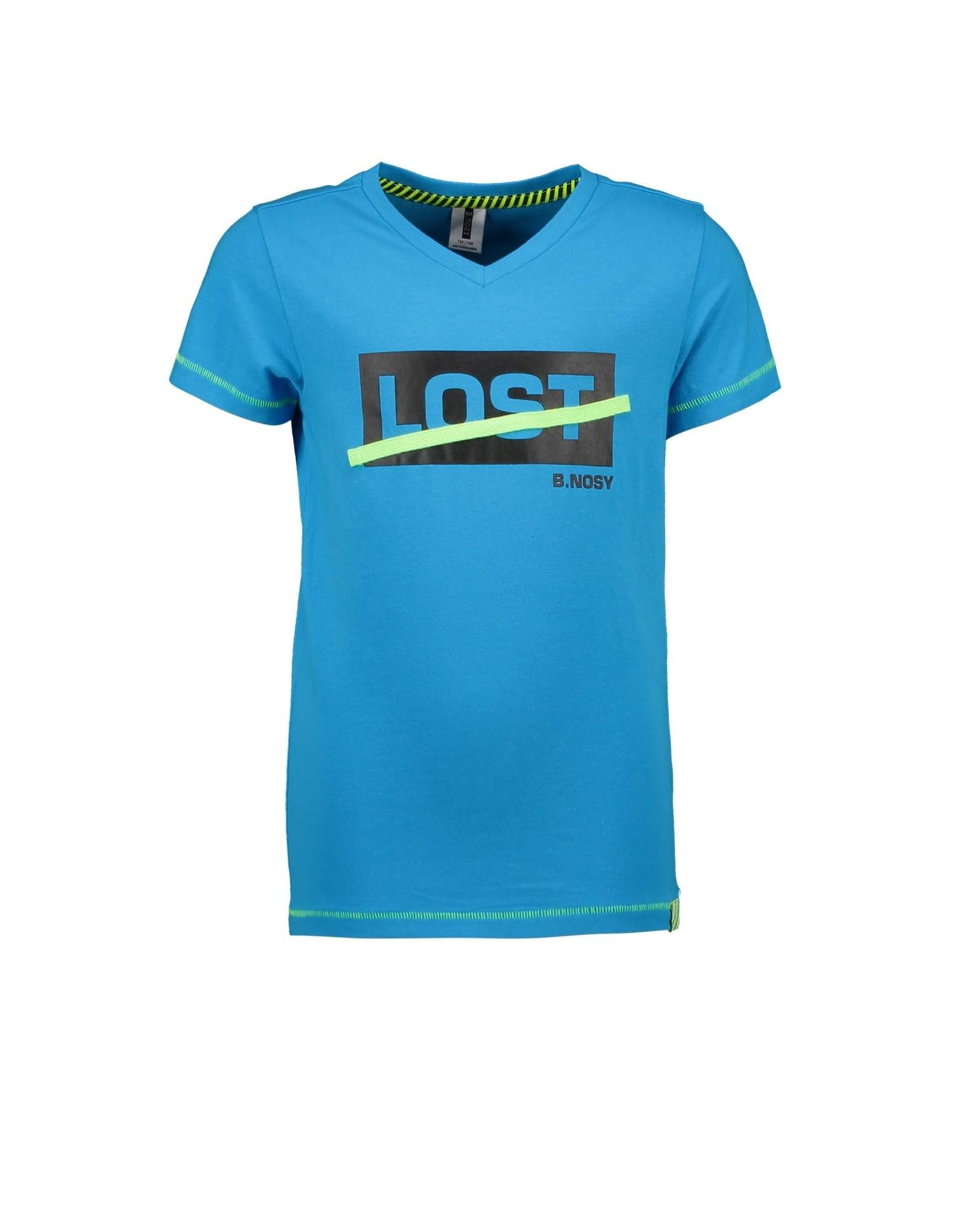 B.Nosy B.Nosy jongens t-shirt Lost Surf Blue
