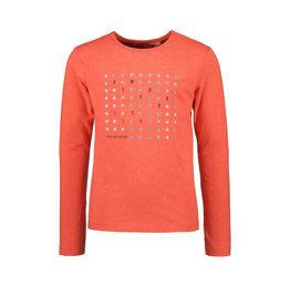 TYGO & vito TYGO & vito meisjes shirt Stars Ar Born Fiery Coral