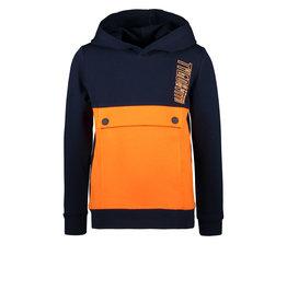TYGO & vito TYGO & vito jongens hoodie Anorak Navy