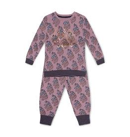 Charlie Choe Charlie Choe meiden pyjama aop Unicorn Light Mauve