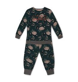 Charlie Choe Charlie Choe meiden pyjama Good Night Dark Green