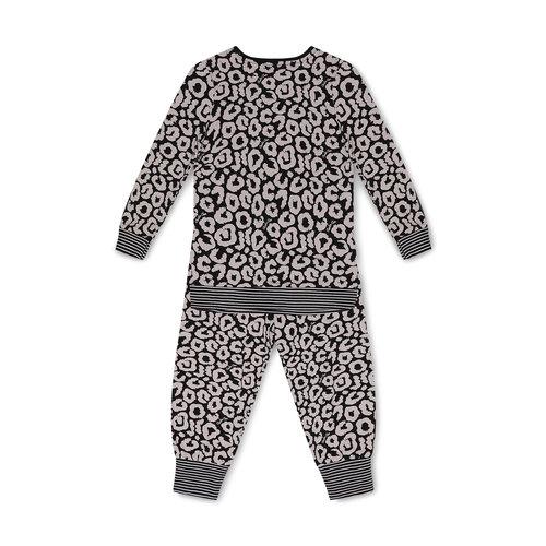 Charlie Choe Charlie Choe meiden pyjama Wild Heart Pink Black