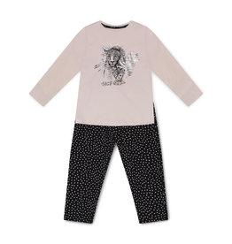 Charlie Choe Charlie Choe meiden pyjama Tiger Pink Black