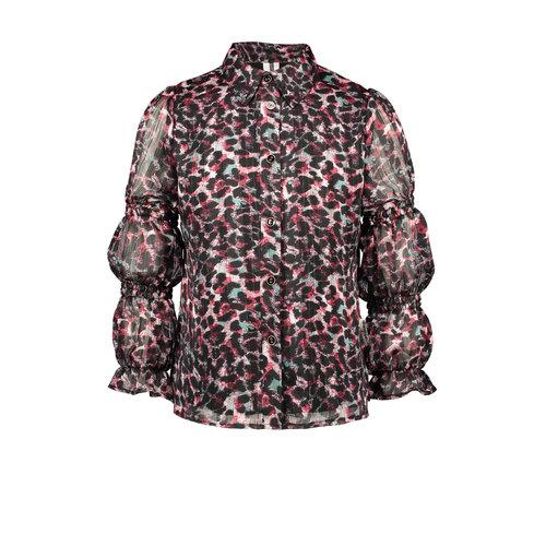 B.Nosy B.Nosy meisjes blouse Smock Details Brushed ao