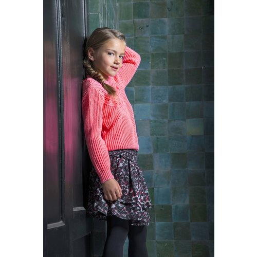 B.Nosy B.Nosy meisjes gebreide sweater Confetti