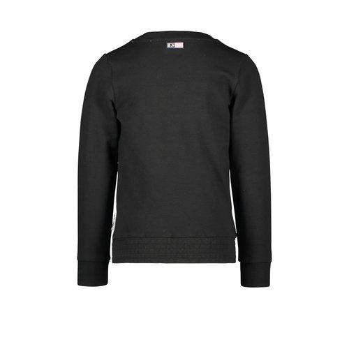 B.Nosy B.Nosy meisjes sweater Better Black