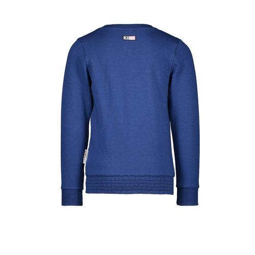 B.Nosy B.Nosy meisjes sweater Tough Lake Blue