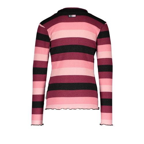 B.Nosy B.Nosy meisjes shirt Better Rib Stripe