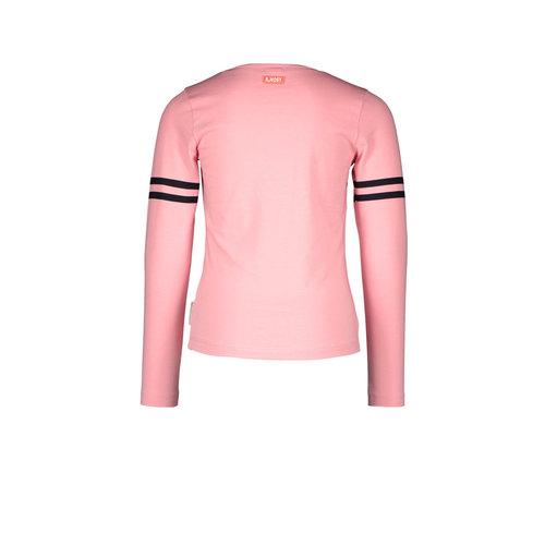 B.Nosy B.Nosy meisjes shirt Lucky Punch Pink