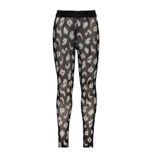 B.Nosy B.Nosy meisjes mesh legging You Leopard