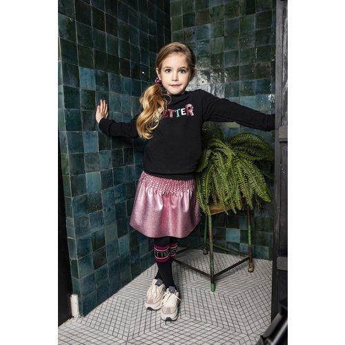 B.Nosy B.Nosy meisjes gecoate rok met gesmokte band Confetti