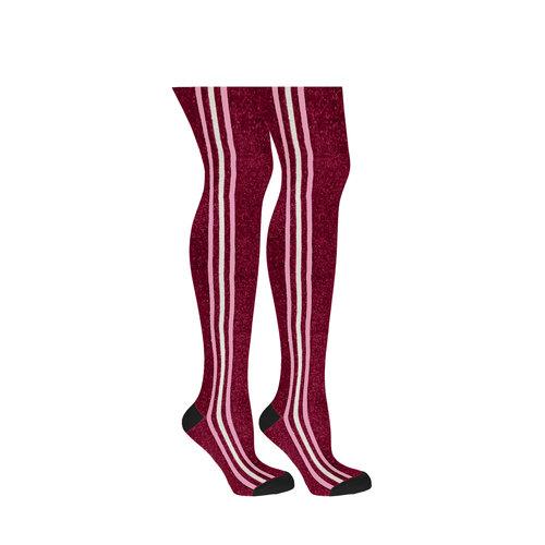 B.Nosy B.Nosy meisjes maillot B.Better 3 stripes Maroon Red