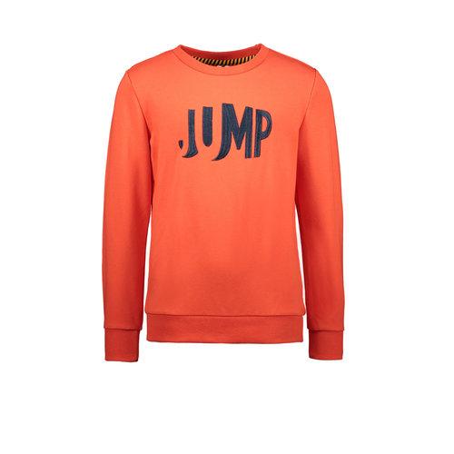 B.Nosy B.Nosy jongens sweater Jump Poppi Red
