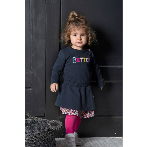 B.Nosy B.Nosy baby meisjes legging Beetroot Pink W21