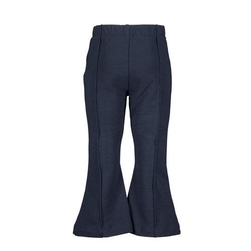B.Nosy B.Nosy baby meisjes flared pants Ink Blue