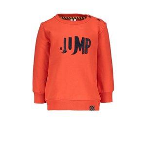 B.Nosy B.Nosy baby jongens sweater Jump Poppi Red