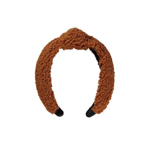 Moodstreet Moodstreet meisjes haarband Teddy Rust