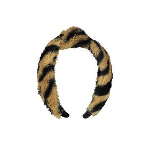 Moodstreet Moodstreet meisjes haarband Tiger Black