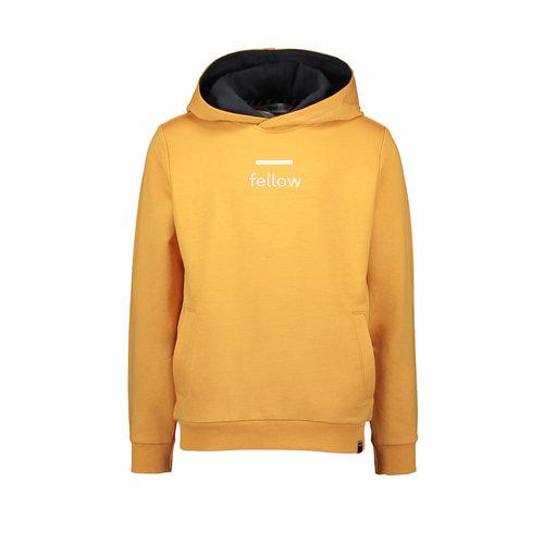 Moodstreet Moodstreet jongens hoodie Fellow Dark Yellow