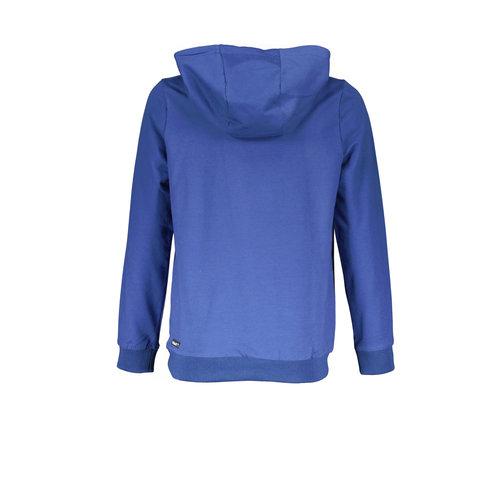 Bellaire Bellaire jongens hoodie met rits Mid Blue