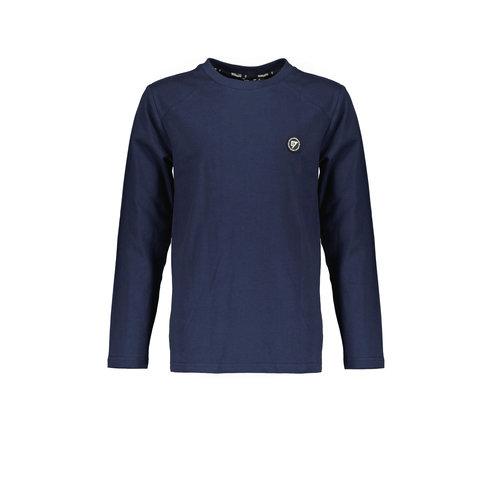 Bellaire Bellaire jongens shirt contrast shoulder Navy Blazer