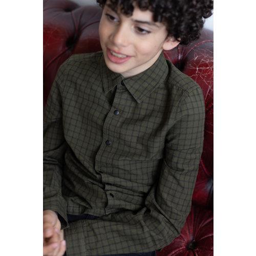 LEVV Levv jongens blouse Roger Oliver Dark