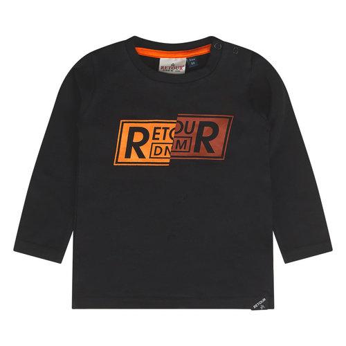 RETOUR Retour baby jongens shirt Rio Black