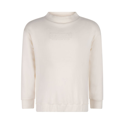 Daily7 Daily7 meisjes sweater met turtle neck Off White