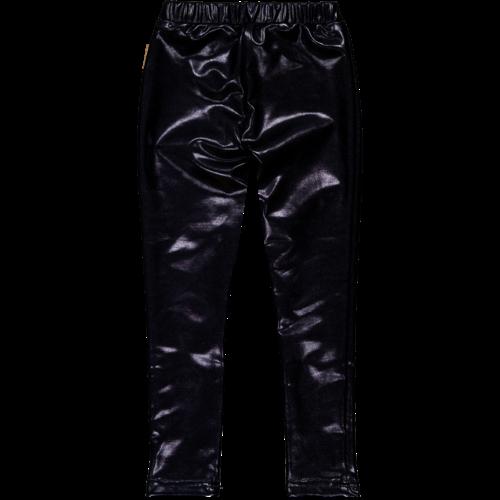 Vingino Vingino baby meisjes leatherlook legging Sawa Deep Black