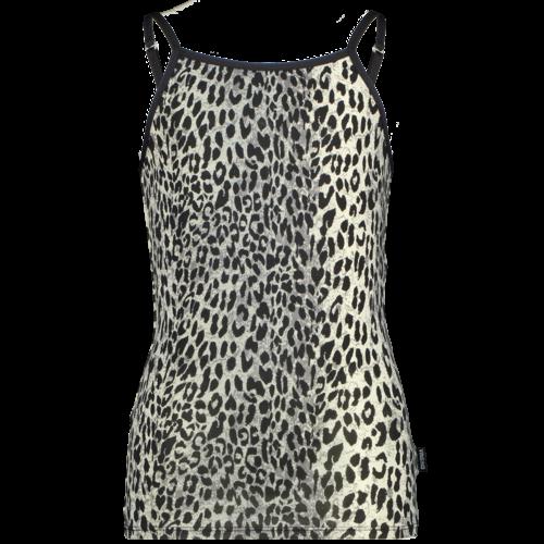 Vingino Vingino meiden ondergoed hemd Animal Deep Black