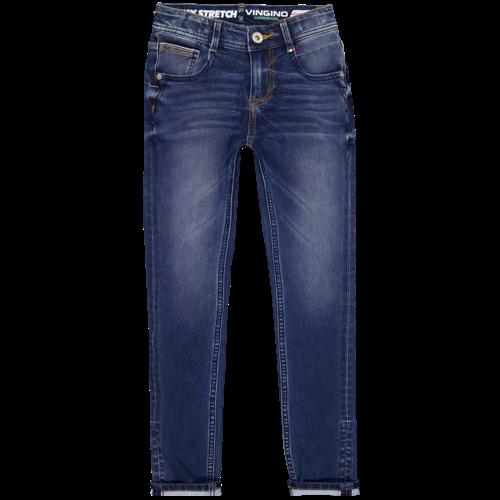 Vingino Vingino jongens 4-way stretch jeans Alfons Blue