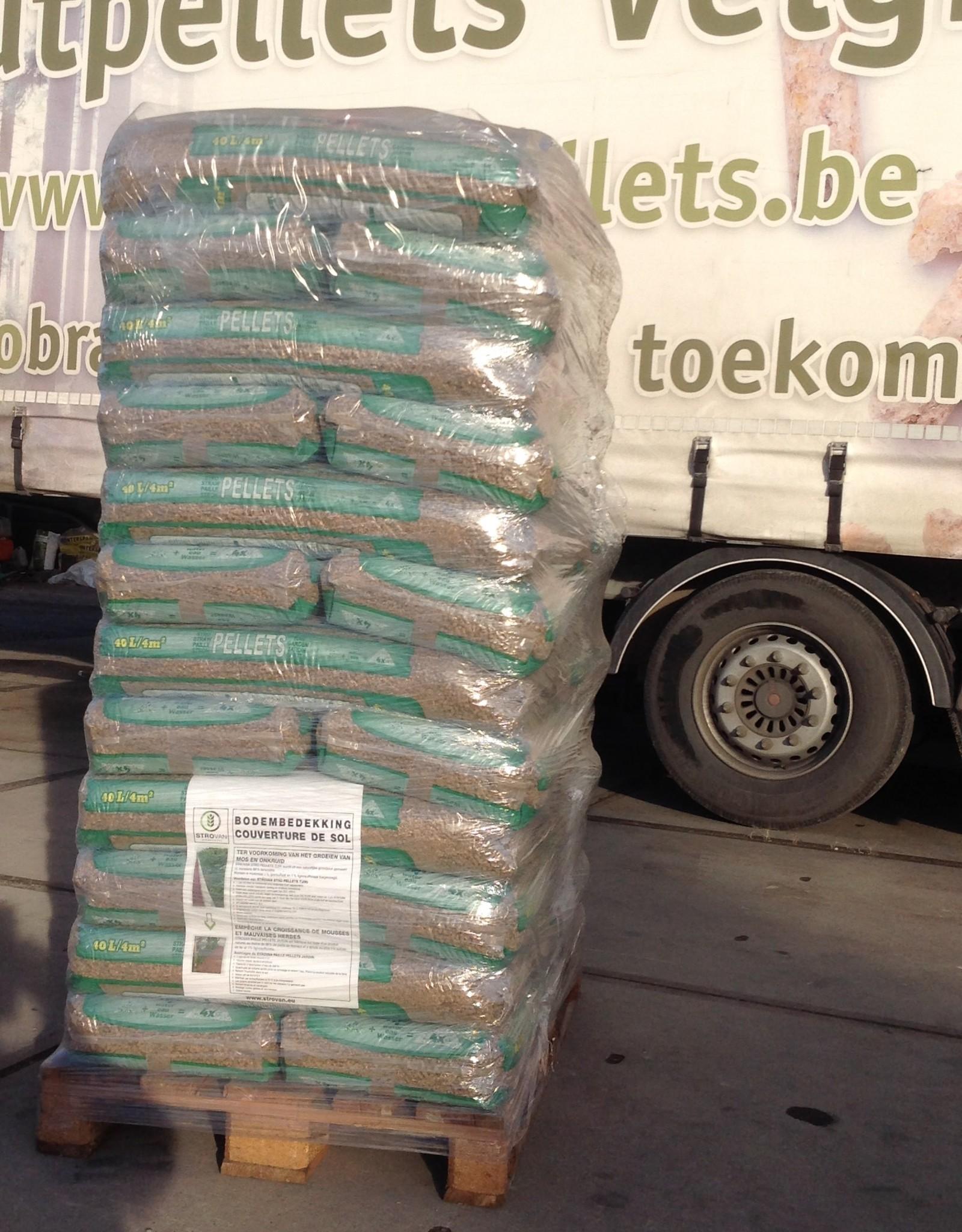 Strovan-pellets Pallet STROVAN-STROPELLETS-TUIN 36 zakken 720 kg