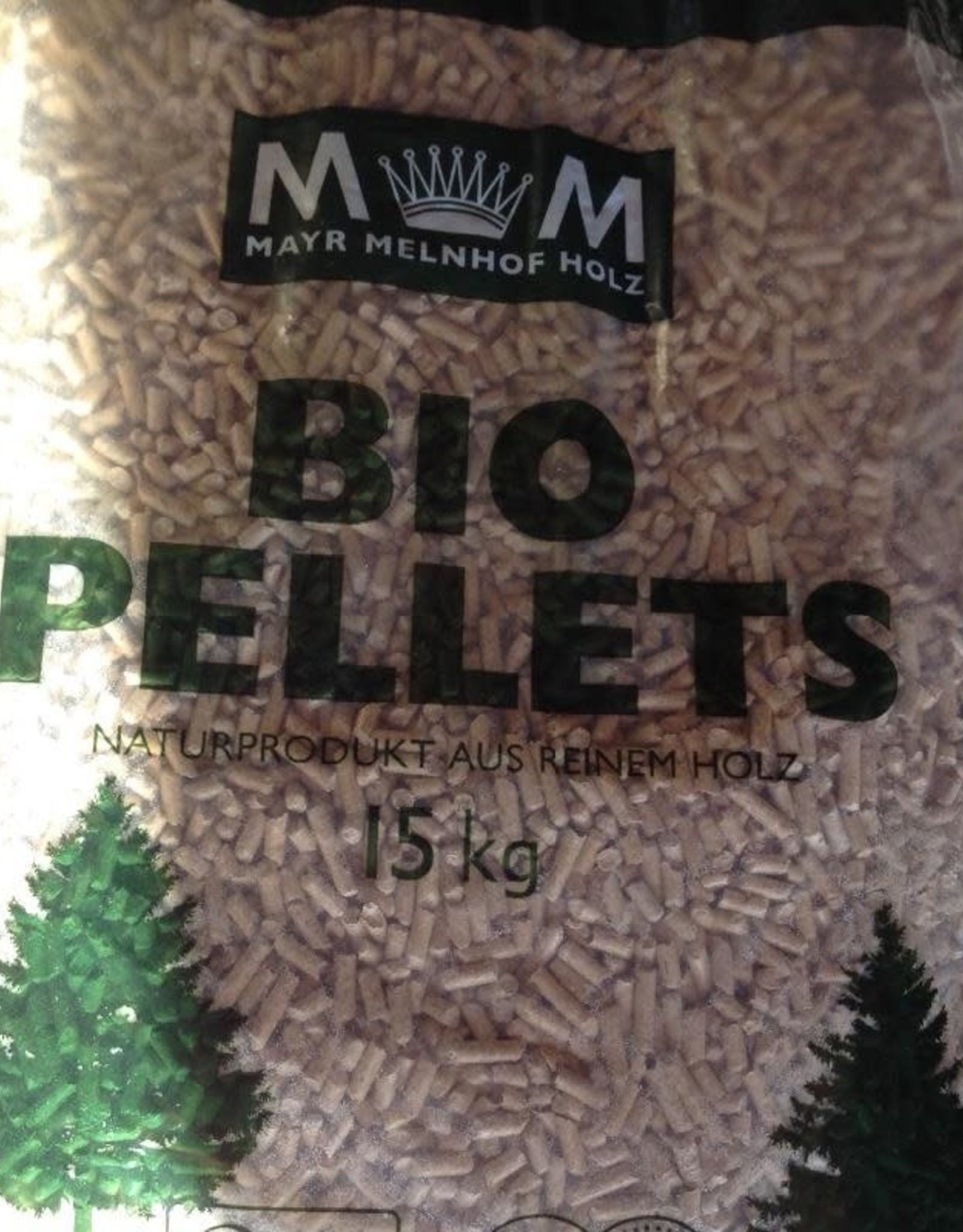 Bio-pellets Pallet BIO-PELLETS 66  zakken  990 kg
