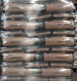 Pallet BIO-PELLETS 66 zakken 990 kg