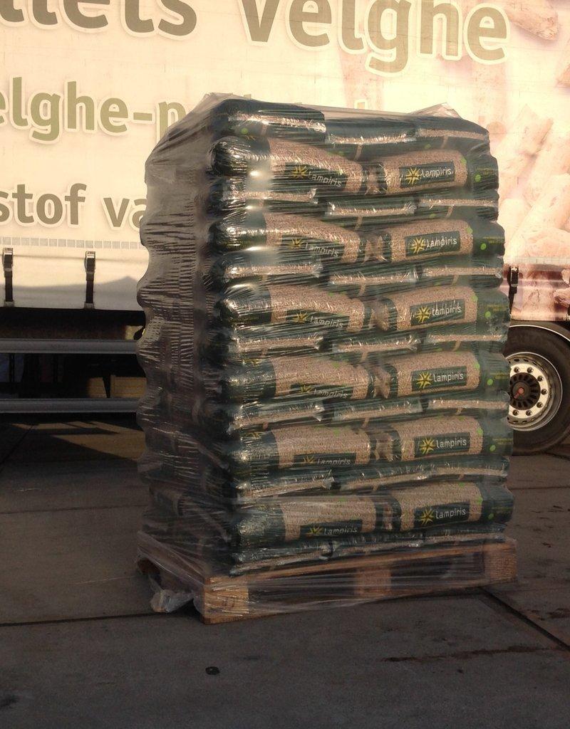 Lampiris-pellets lampiris-pellets 1 palet  65 zakken 975 kg
