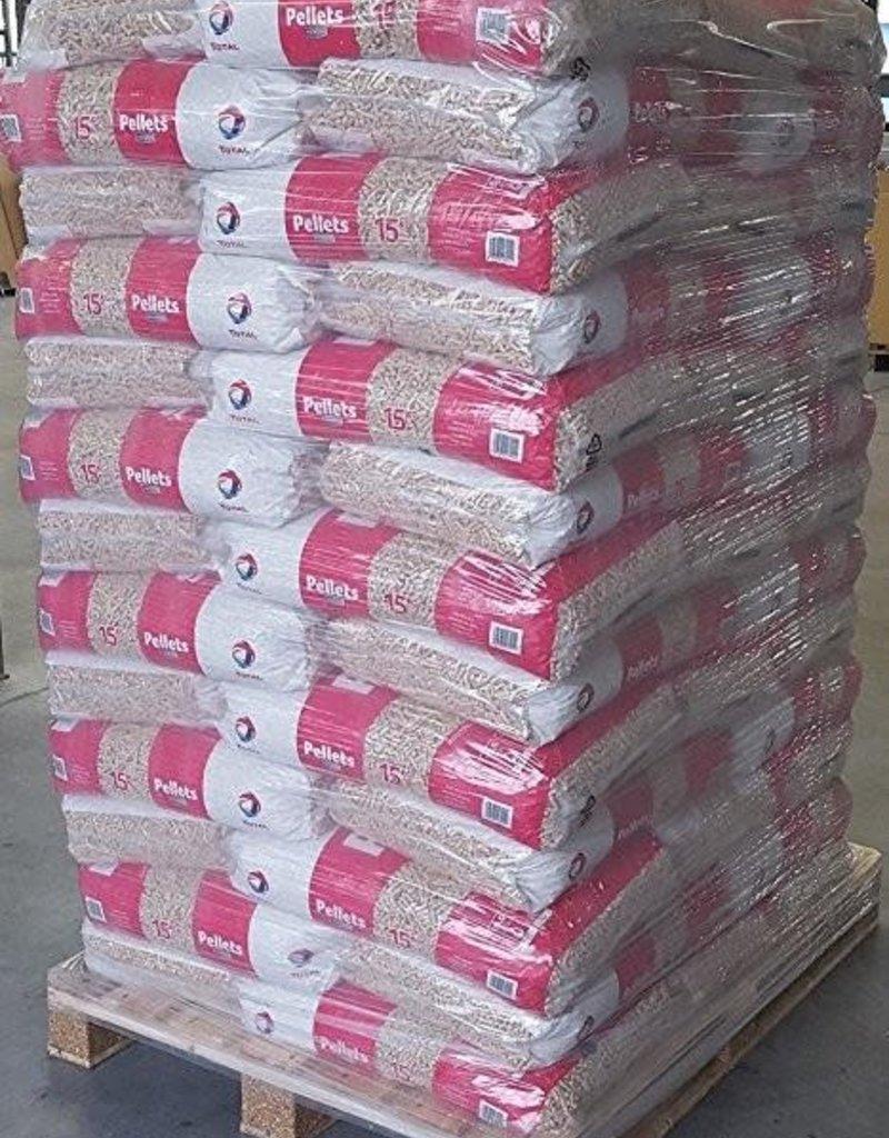 Total-pellets Pallet TOTAL-PELLETS 65 zakken 975 kg