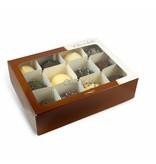 Vorsortierte Schachtel von 12 Schokoküsse