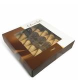 Schokoküsse-Eis mit  Foto in Herzform