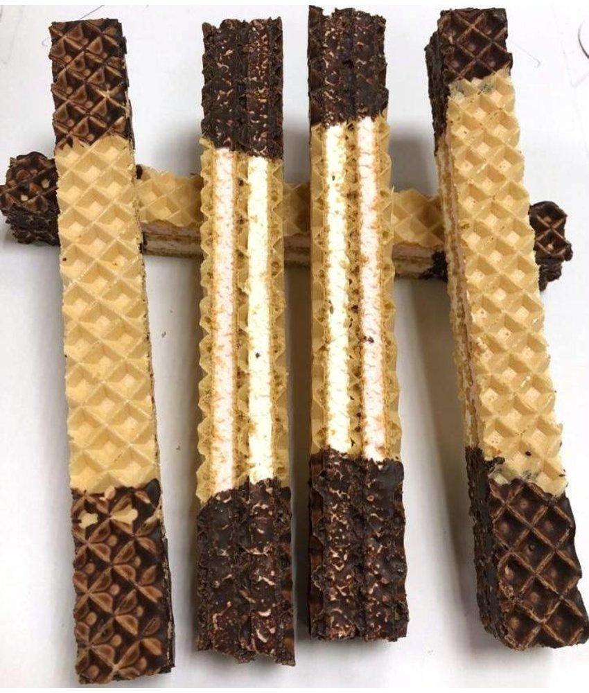 Schokolade Schnitten / Waffeln