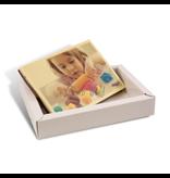 Schokolade Karte klein mit foto