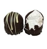 Schokoküsse Zebra Zartbitter Schokolade