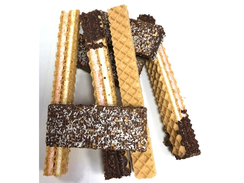Schokolade Schaumwaffeln gemischt