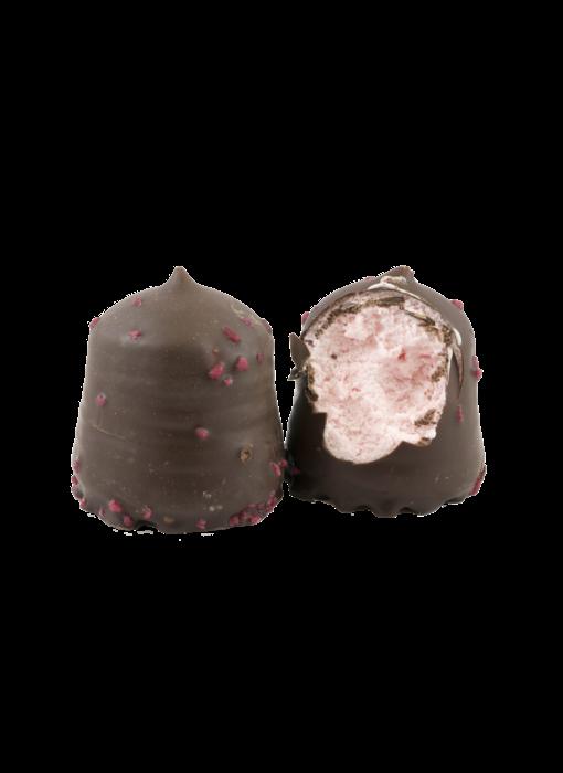 Zartbitter  Erdbeer  Schokoküsse