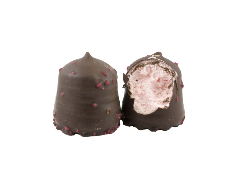 Schokoküsse  Zartbitter Erdbeer