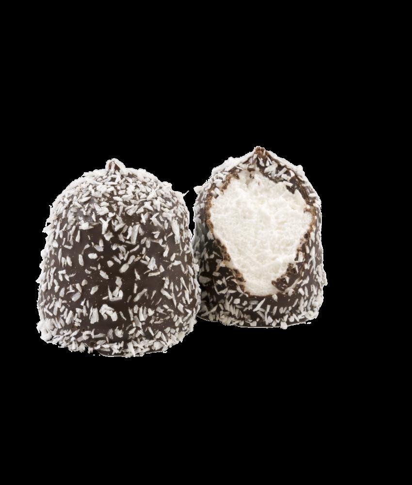 Zartbitter Kokos Schokoküsse