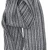 KAARNA scarf - black, 100% wool